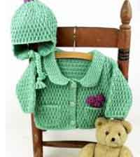Baby Jacket & Hat