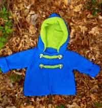 Seed Stitch Baby Hoodie
