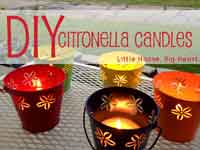 Make Better Citronella Candles