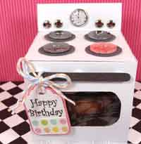 Oven Cupcake Box Tutorial