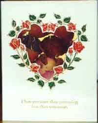 Heart Potpourri Card