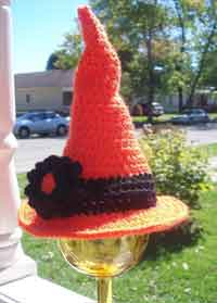 Baby & Toddler Witch Hat Halloween Crochet Pattern