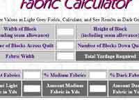 Fabric Calculator