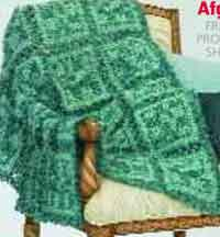 LM0228 Gleam Seaglass Afghan - Advanced Level