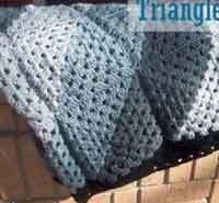Triangles Afghan