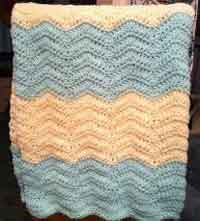 Crochet Baby Blanket Patterns Popcorn Stitch : Over 50 Free Crocheted Baby Blanket Patterns at AllCrafts.net