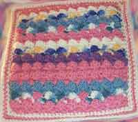 Cheryls Scrap Reversible Shells Afghan