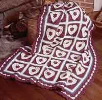 Country Hearts Afghan