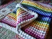 Over 50 Free Crocheted Baby Blanket Patterns At Allcrafts Net