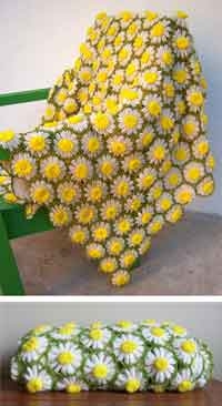 Over 100 free crocheted flowers patterns at allcrafts vintage daisy motif crochet pattern dt1010fo
