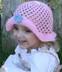 Picture Perfect Crochet Hat