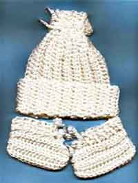 Crochet Baby Cherry Hat
