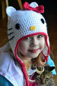 Hello Kitty Hat Pattern