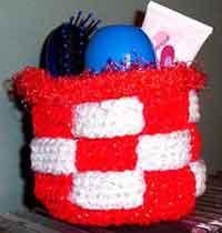 Februarys Woven Basket