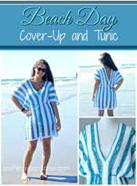 Over 75 free crocheted beachwear patterns beach day cover up tunic dt1010fo