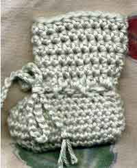 efdf92e58198 Over 100 Free Crocheted Baby Booties Patterns at AllCrafts.net