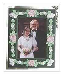 Spring Blossoms Picture Frame