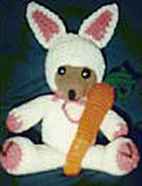 Bear in Bunny Clothes