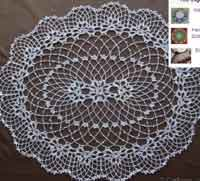 Irish Crochet Doily