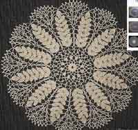 Lace Wheat Doily