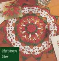 Christmas Star Doily