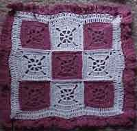 9 Patch Doily
