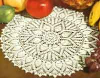 Double Pineapple Doily