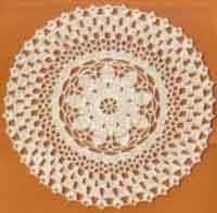 EIGHT INCH DOILY