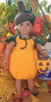 Doll Pumpkin Costume