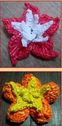 Over 100 Free Crocheted Flowers Patterns at AllCrafts net