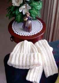 Easy Crocheted Hat