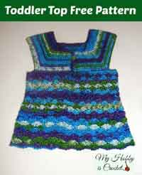 Iris Toddler Top Free Crochet Pattern