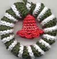 Christmas Wreath Ornament/Fridgie