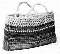 Sallys       Crochet Shopper