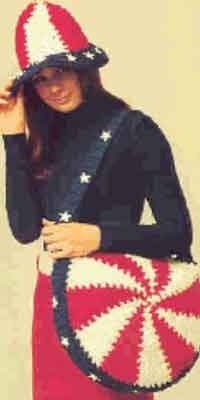 Stars & Stripes Hat & Bag