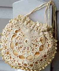 Topaz Crocheted Purse