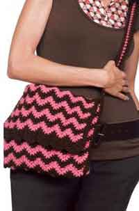 Crochet       Ripple Bag