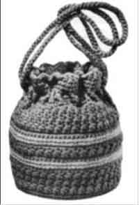 Over 150 free crochet purse tote and bag patterns at allcrafts crocheted lantern bag dt1010fo