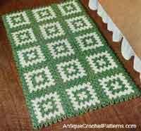 Rectangular Rug Pattern