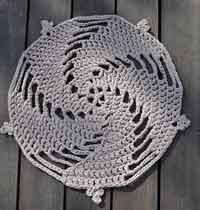 Zpagetti Five Spirals Rug