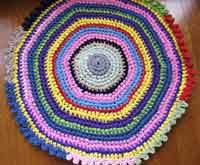 Over 50 Free Crochet Rug Patterns And Tutorials At Allcrafts