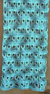 Laurel Broomstick Lace Scarf