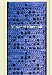 Mesh Point Repeats Scarf