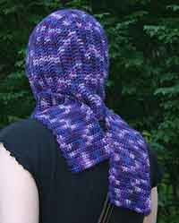 Seamless Hooded Scarf