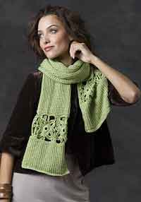Over 300 free crocheted scarf patterns at allcrafts stone creek scarf free crochet knit combo pattern dt1010fo