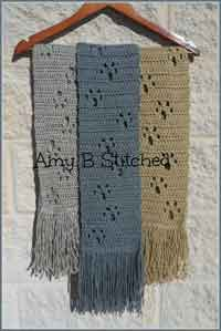 b3bbc97b165 Over 300 Free Crocheted Scarf Patterns at AllCrafts!
