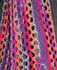 Crochet Chain Link Scarf Pattern - Look At What I Made