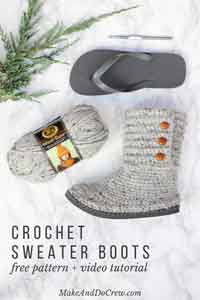 Over 100 Free Crocheted Slippers Patterns At Allcrafts Net