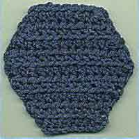 half circle or half hexagon shawl pattern [Archive] - Crochetville
