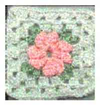 photograph regarding Free Printable Crochet Granny Square Patterns identified as Earlier mentioned 250 Totally free Crocheted Sq. Types at